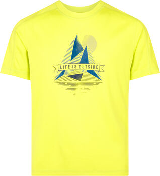 McKINLEY Camiseta Manga Corta Cora jrs Amarillo