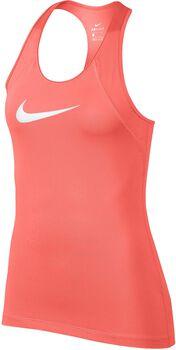 Nike Pro Tank All Over Mesh Mujer Naranja
