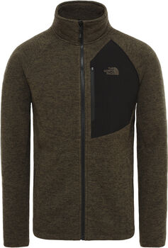 The North Face SudaderaARASHI OVERLAY FLEECE II hombre Verde