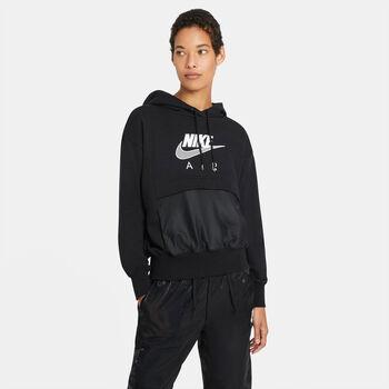 Sudadera con capucha Nike Air mujer Negro