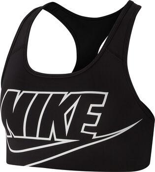 Nike Sujetador Deportivo Sujeción media mujer Negro