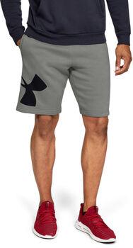 Under Armour Pantalón corto de tejido Fleece y logotipo UA Rival para hombre