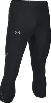 Under Armour Leggings de ¾ UA Run True para hombre Negro
