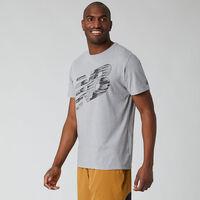 Camiseta Manga Corta Graphic Heathertech