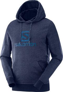 Salomon Camiseta LOGO HOODIE M-Night Sky-- hombre