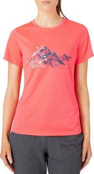 McKINLEY Camiseta Manga Corta Rossa mujer