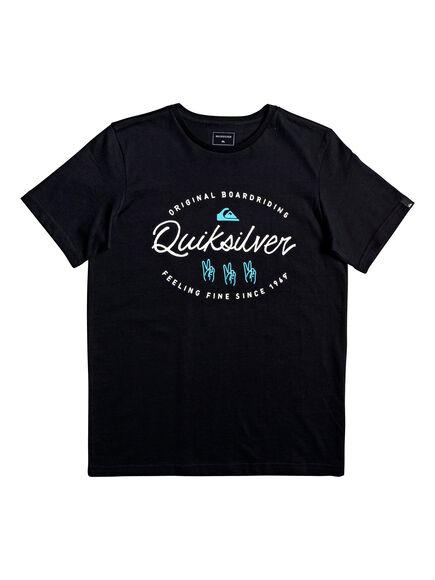 Camiseta manga corta WAVESLAVESSYTHS BRN0