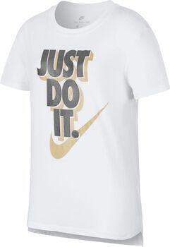 Nike Sportswear Tee Hilo JDI Niña Blanco