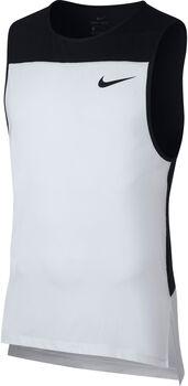 Nike Camiseta de tirantes Pro hombre Blanco