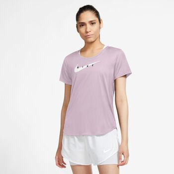 Nike Camiseta manga corta Swoosh Run mujer