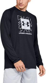 Under Armour Camiseta de manga larga UA Tech™ 2.0 Graphic para hombre Negro