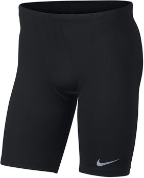 Nike Fast tight hlaf Hombre Negro