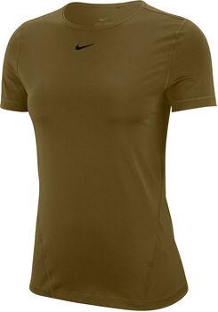 Nike Camiseta Manga Corta Pro All Over Mesh mujer Verde