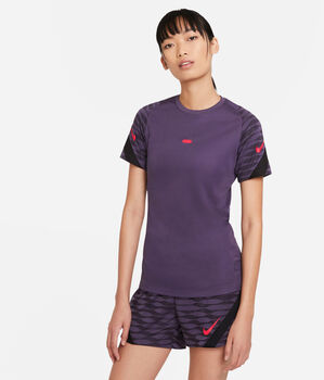 Camiseta de manga corta Fútbol Nike Dri-FIT Strike mujer Púrpura