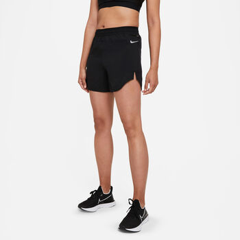 """Nike Shorts Tempo Luxe 5"""" mujer Negro"""