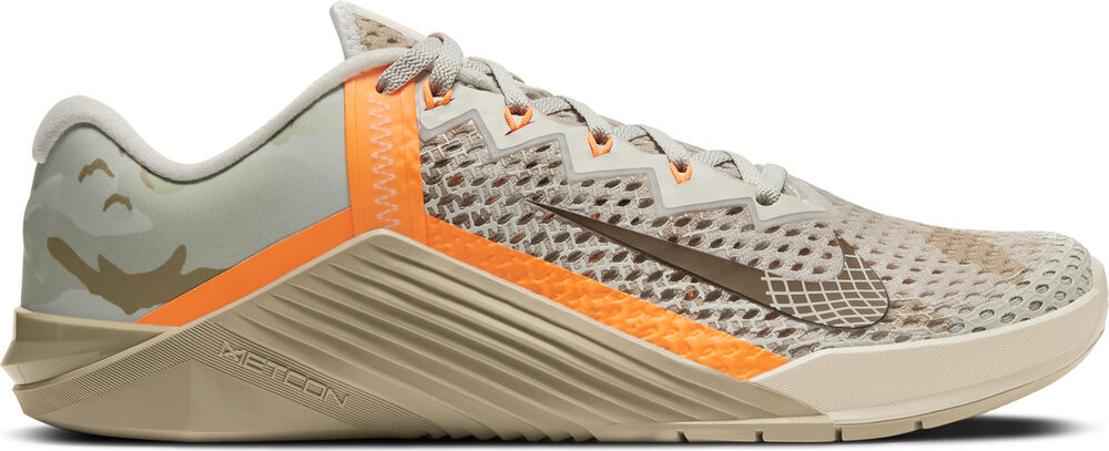 Nike -  Metcon 6 - Hombre - Zapatillas Fitness - Gris - 7dot5