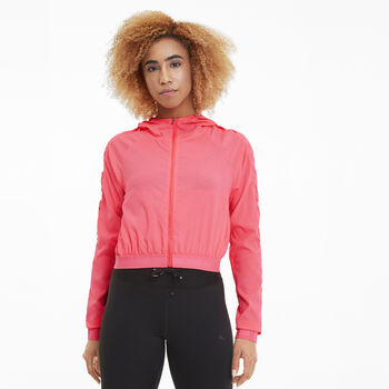 Puma Chaqueta Be Bold Woven Jacket mujer Rosa