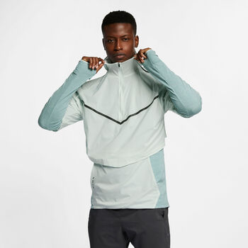 Nike Camiseta Therma Sphere Tech Pack  hombre Gris