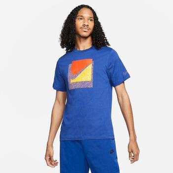Nike Camiseta manga corta BrandRiff Swoosh Box hombre Azul