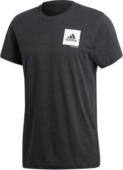 adidas Confidential Camiseta Manga Corta Hombre Negro