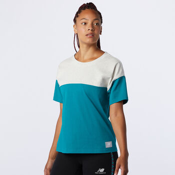 New Balance Camiseta manga corta Athletics Terrain mujer