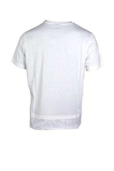 Camiseta manga corta Cuello Caja
