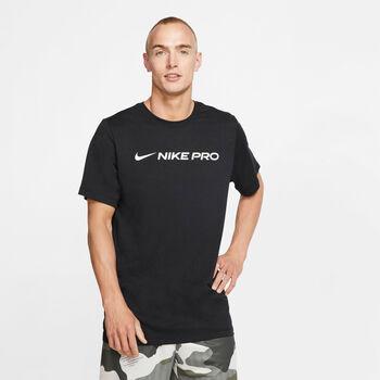 Nike Camiseta manga corta Dri-FIT Pro hombre Negro
