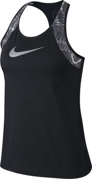 Nike Pro Tank prt Chain Feather mujer Negro