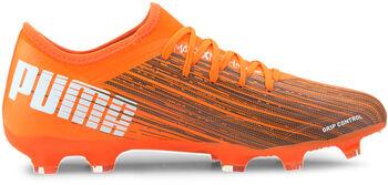 Puma Botas de fútbol Ultra 3.1 FG/AG hombre Naranja