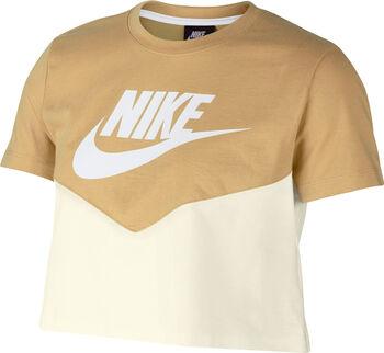 Camiseta de manga corta Nike Sportswear mujer Blanco