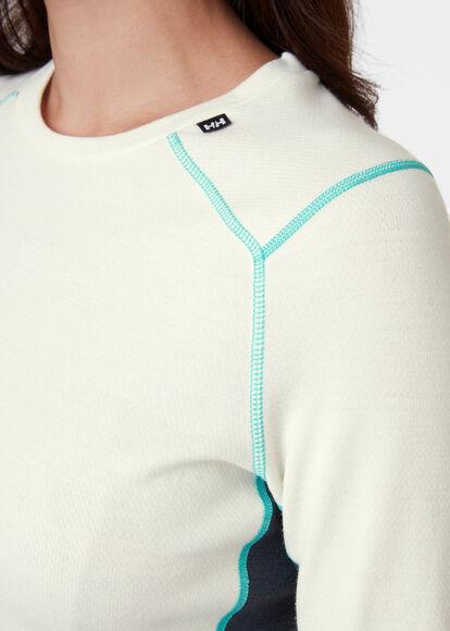 Camiseta W LIFA MERINO MIDWEIGHT CREW
