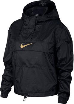 Nike Chaqueta Sportswear Animal Print mujer Negro
