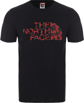 The North Face Camiseta manga corta Berard hombre Negro