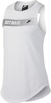 Nike Sportswear graphic tank niña Blanco