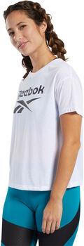 Reebok Camiseta Manga Corta Workout Ready Supremium Logo mujer
