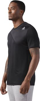 Reebok Workout Ready Tech Top Hombre Negro