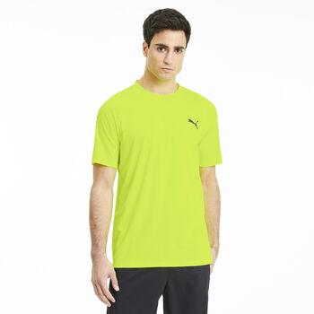 Puma Camiseta Manga Corta Power Thermo R+ Tee hombre Amarillo