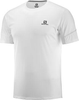 Salomon Camiseta MC AGILE SS TEE M Whi hombre