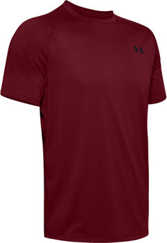 Under Armour Camisa Tech 2.0 SS Tee Novelty hombre Rojo