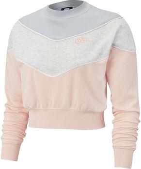Nike Camiseta m/lNSW HRTG CREW SB mujer