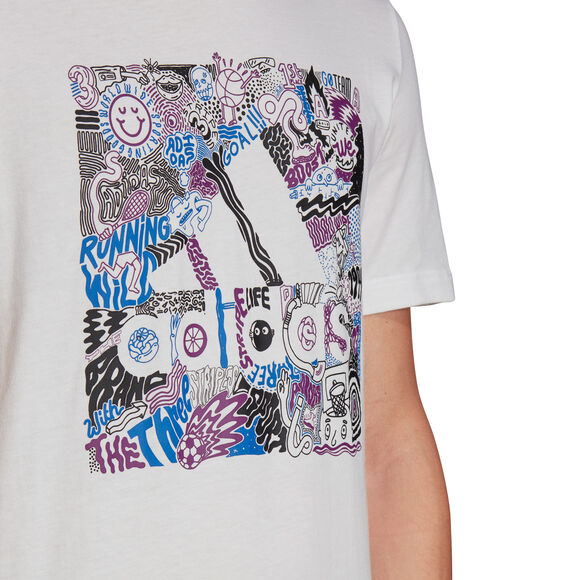 Camiseta Manga Corta Doodle Badge Of Sport