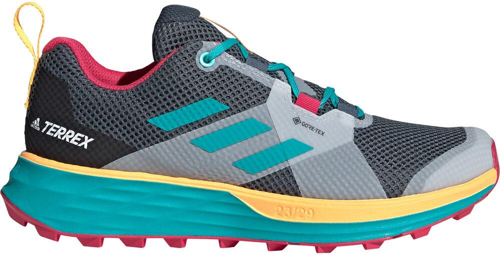 adidas - Zapatilla Terrex Two GORE-TEX Trail Running - Mujer - Zapatillas trekking y senderismo - 36 2/3