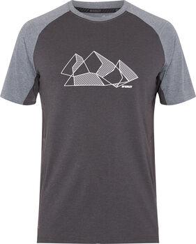McKINLEY Camiseta Manga Corta Ponga ux hombre Gris