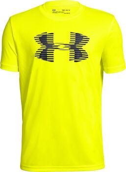 Under Armour Camiseta m/c Tech Big Logo Solid Tee niño Amarillo