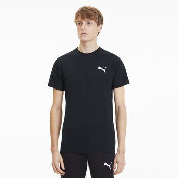 Puma Camiseta de manga corta EVOSTRIPE hombre Negro