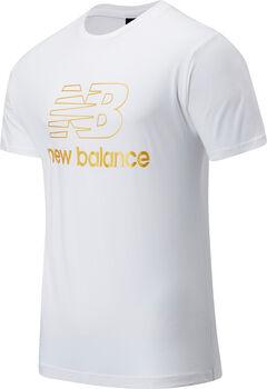 New Balance Camiseta de manga corta Athletics Podium hombre Blanco