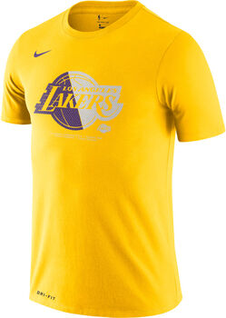 Nike Camiseta m/c Los Angeles Lakers  LGO NBA hombre