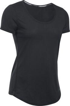 Under Armour Camiseta de manga corta de running Threadborne™ Streaker para mujer Negro