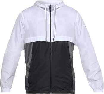 ca6d446ec556c Under Armour Sportstyle Windbreaker Hombre Blanco