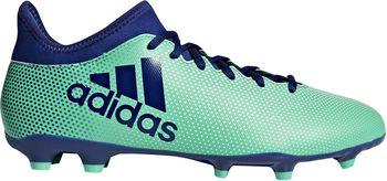 Botas fútbol adidas X 17.3 FG Verde
